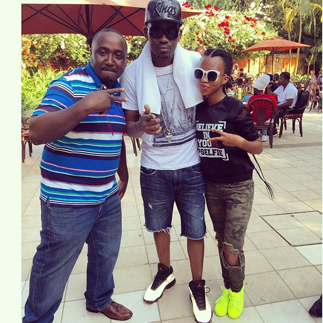 Sheila Gashumba's Insta-fame with Busy Signal and Suudiman